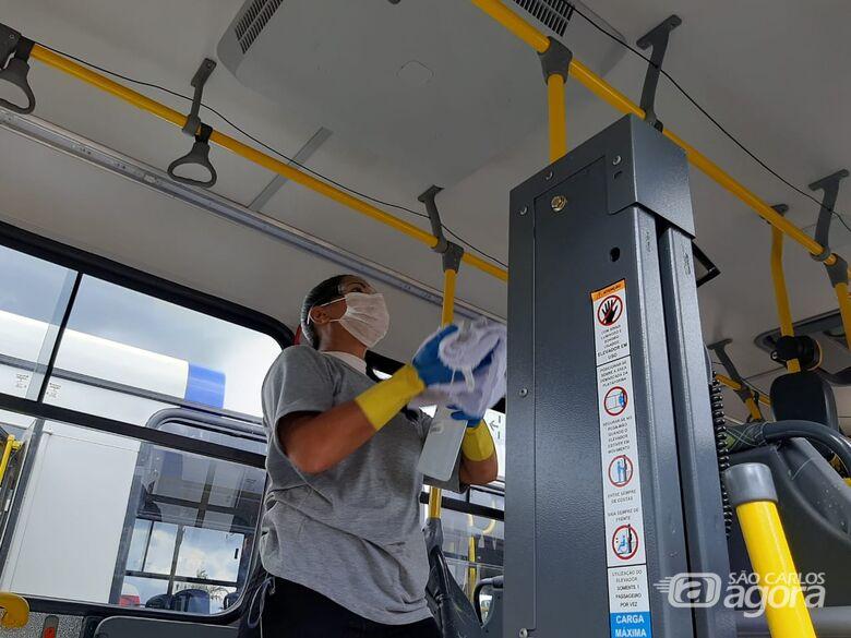 Suzantur e BusFácil São Carlos continuam operando e garantem transporte para profissionais de serviços essenciais - Crédito: Divulgação