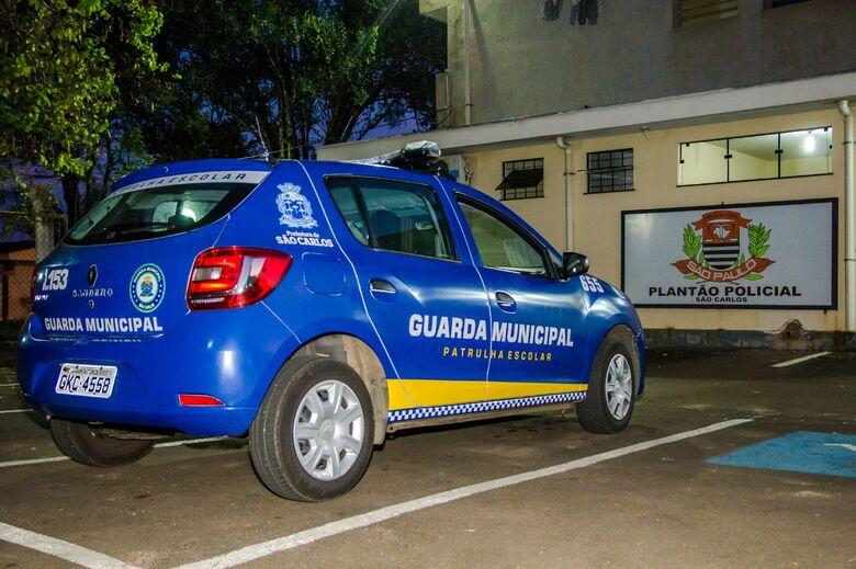 Suspeito é detido com botijão de gás pela GM - Crédito: Arquivo/SCA