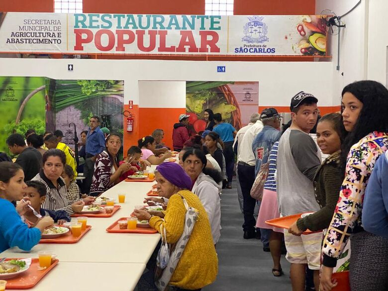 Estimativa é que sejam oferecidas 500 refeições diárias - Crédito: Divulgação