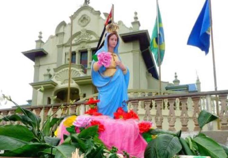 Santuário da Babilônia se prepara para festa religiosa - Crédito: Divulgação