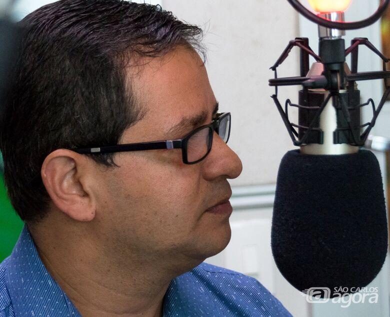 Vereador Roselei Françoso, integrante da Comissão Especial da Câmara Municipal e da OAB São Carlos para Assuntos do Covid-19 - Crédito: Divulgação