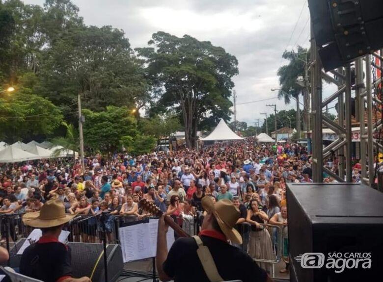Festa do Milho em Água Vermelha chega a reunir em cada edição, 7 mil pessoas - Crédito: Divulgação
