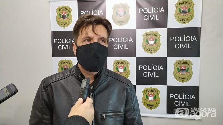 Gilberto de Aquino e sua equipe elucidaram mais um crime em São Carlos - Crédito: Maycon Maximino
