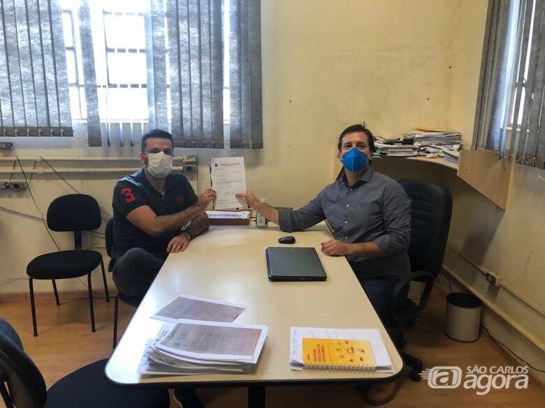 Vereador Rodson comemora: Prefeitura fará a desinfecção do conjunto habitacional da CDHU - Crédito: Divulgação