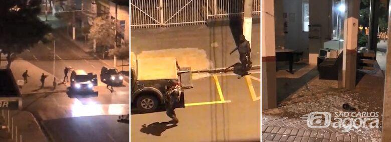 Madrugada de terror: bandidos fortemente armados atacam agência bancária no interior de SP - Crédito: Divulgação