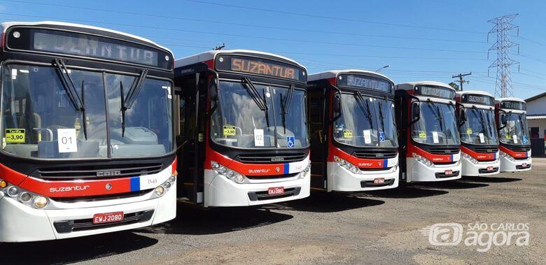 Suzantur informa que passageiros sem máscara serão impedidos de embarcar nos ônibus - Crédito: Divulgação