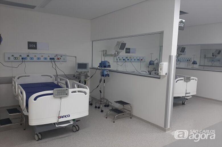 Hospital Universitário (HU) da UFSCar inaugura 10 leitos de UTI nesta sexta-feira (15) - Crédito: Divulgação