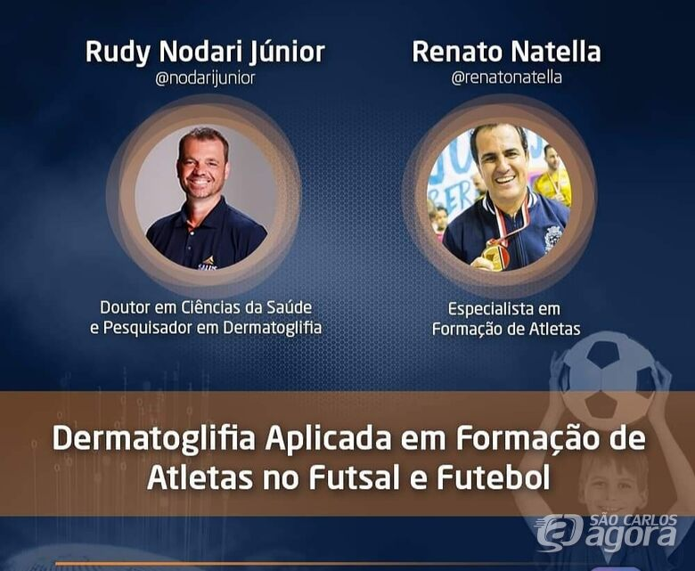 Live irá debater o uso da Dermatoglifia na formação de atletas -