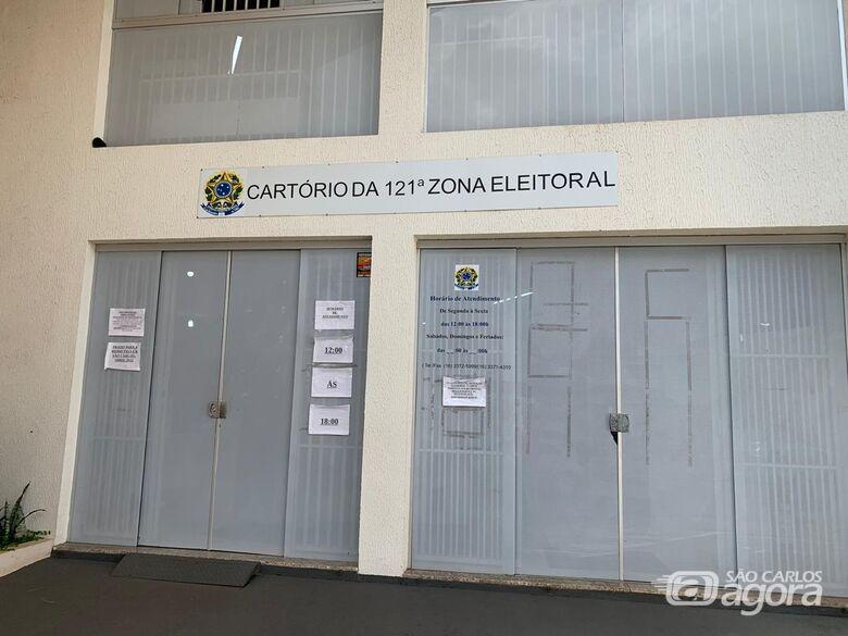 São Carlos tem 187.075 aptos a voto; eleições estão mantidas para outubro - Crédito: Divulgação