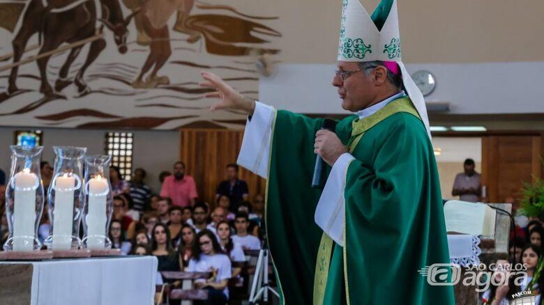 """""""Temos que ser cuidados com a vida humana e a não propagação do novo coronavírus"""", disse o bispo - Crédito: Divulgação"""