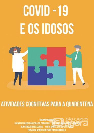 E-book propõe atividades que estimulam a cognição dos idosos durante a quarentena - Crédito: Divulgação