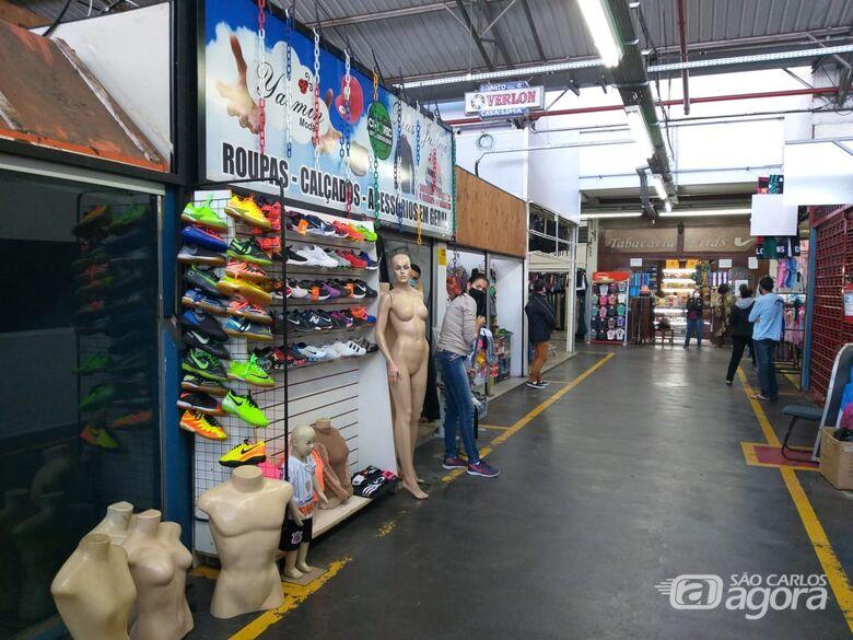 Lojas do mercadão devem seguir as normas do decreto estadual - Crédito: Arquivo/SCA