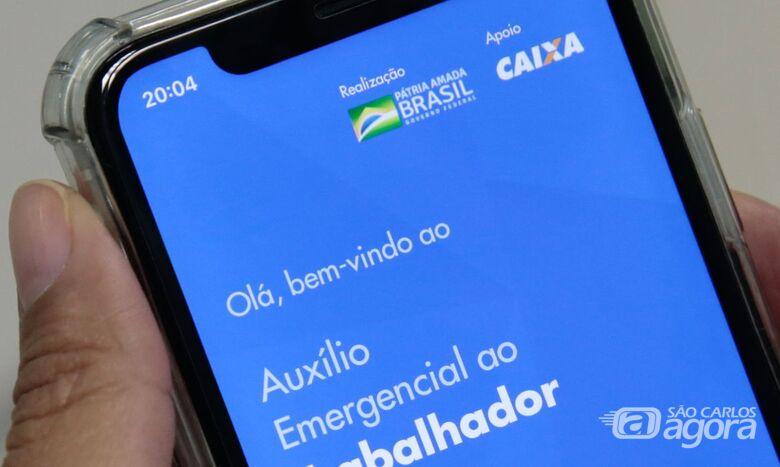 Caixa começa a pagar amanhã terceira parcela do auxílio emergencial - Crédito: Agência Brasil