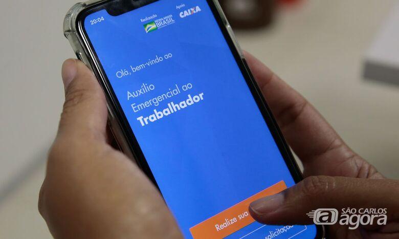 Caixa inicia hoje o pagamento do Saque Emergencial do FGTS - Crédito: Agência Brasil