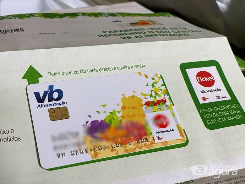 Valor de R$ 50 do vale alimentação aos alunos da rede municipal de ensino será creditado nesta semana - Crédito: Divulgação