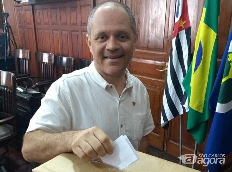 Erick Silva lança pré-candidatura pelo PT para a Prefeitura de São Carlos - Crédito: Divulgação