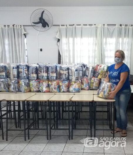 Prefeitura de Ibaté inicia segunda distribuição dos 4.337 kits de merenda escolar - Crédito: Divulgação