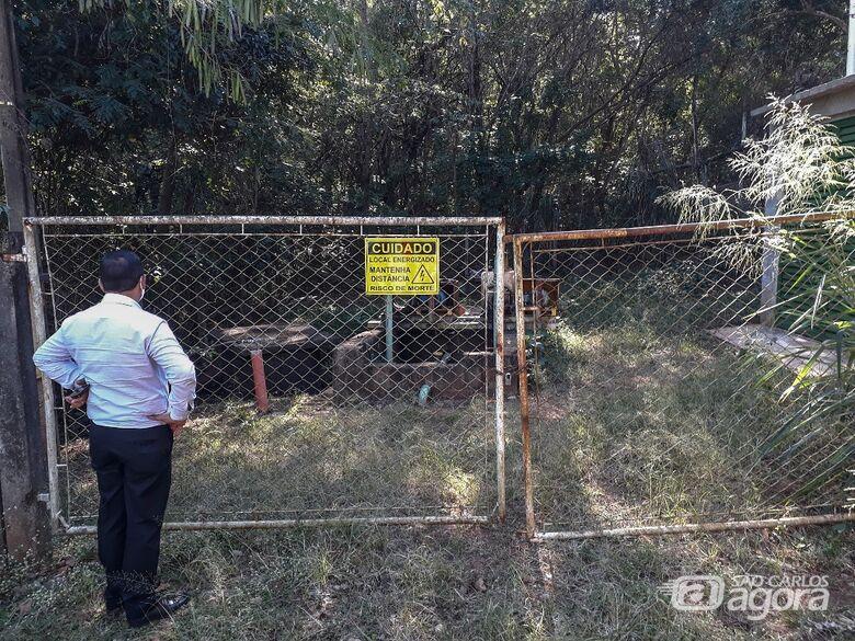 Roselei constata problemas no Jardim Tijuca: vereador protocolou pedido para que a Prefeitura tome providências - Crédito: Divulgação