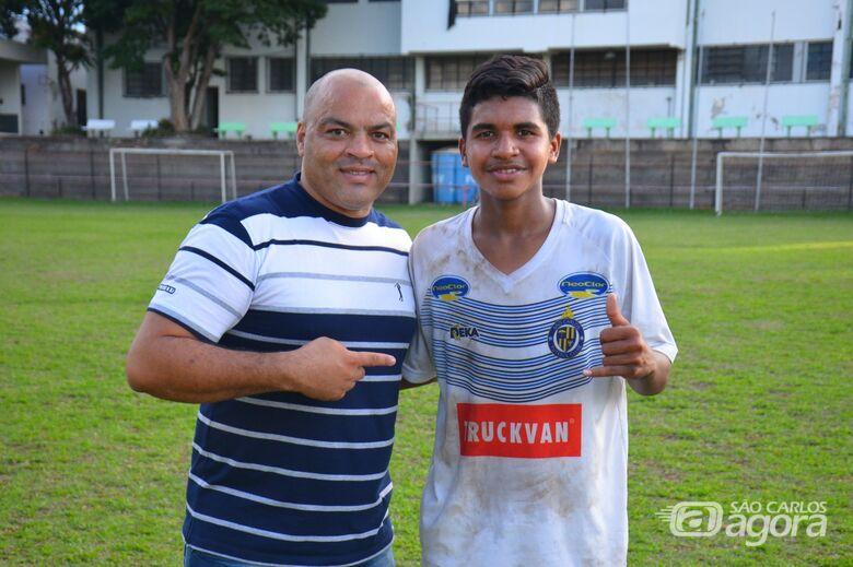 Boldrin e Zé Mário: jogador segue para a Albânia - Crédito: Marcos Escrivani
