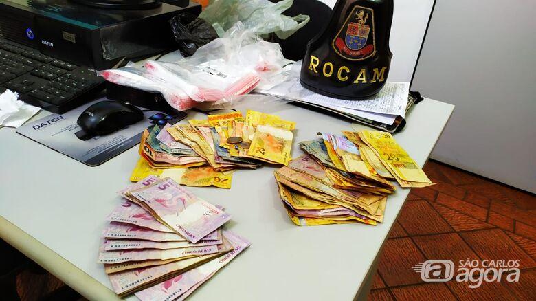 Acusado de tráfico é detido no São Carlos 5 - Crédito: Maycon Maximino