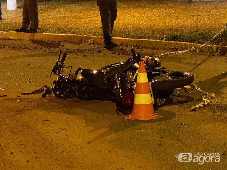Violento acidente mata motociclista em cidade da região - Crédito: Araraquara 24 Horas
