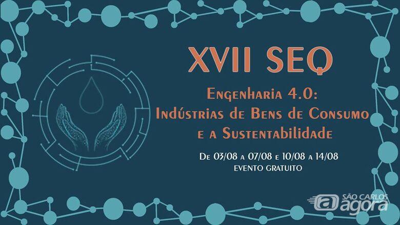 Semana da Engenharia Química da UFSCar acontece em agosto - Crédito: Divulgação
