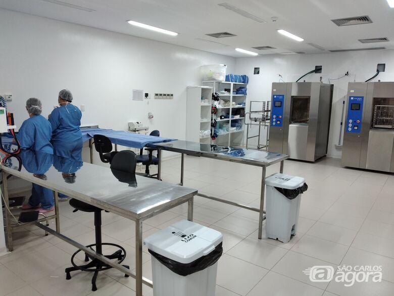 Hospital Universitário inaugura Centro de Material e Esterilização - Crédito: Marilia Corbini - HU-UFSCar