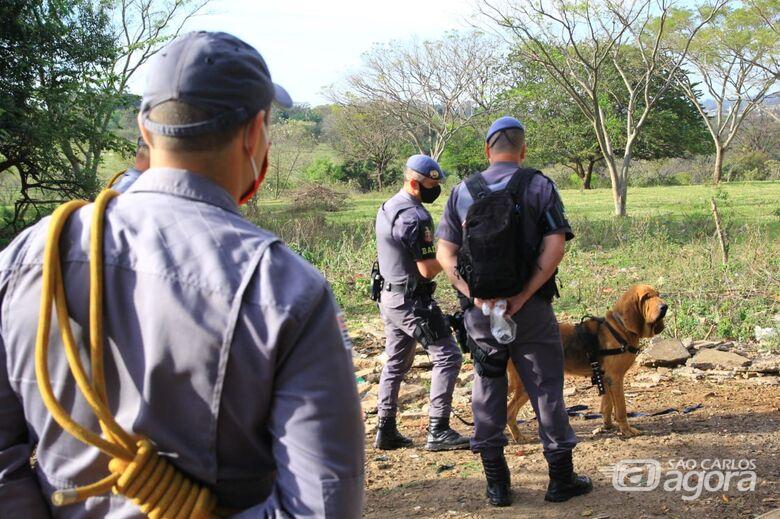 Bombeiros e BAEP fazem buscas para tentar localizar idoso desaparecido desde quarta-feira - Crédito: Marco Lúcio