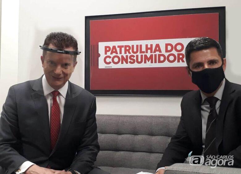 Vereador Edson Ferreira agradece ao deputado Russomano por liberação de verba para saúde em São Carlos - Crédito: Divulgação