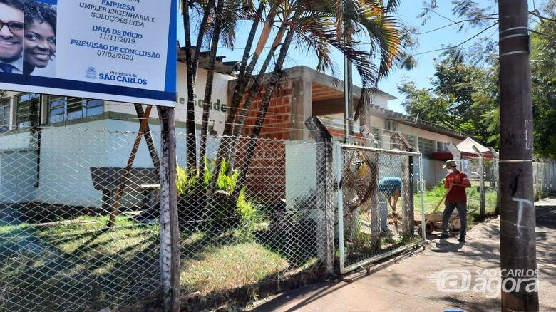 Recursos federais viabilizados pelo vereador Malabim possibilitam a retomada das obras no Posto de Saúde do Parque Delta - Crédito: Divulgação