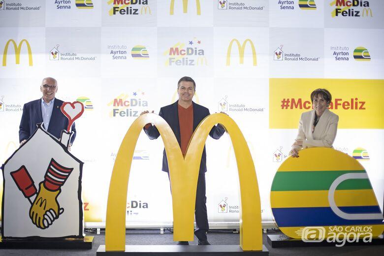 Francisco Neves, Paulo Camargo e Viviane Senna - Crédito: Divulgação