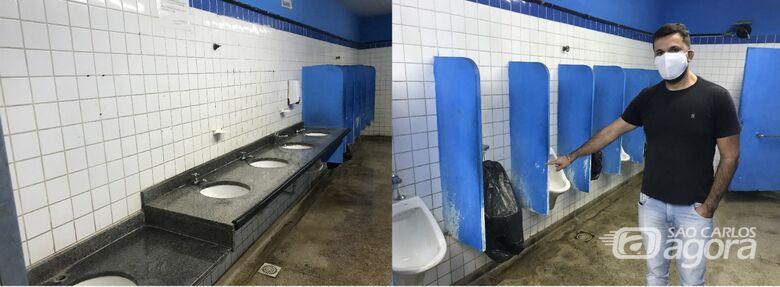 Vereador Rodson pede a manutenção do banheiro público do Mercado Municipal - Crédito: Divulgação