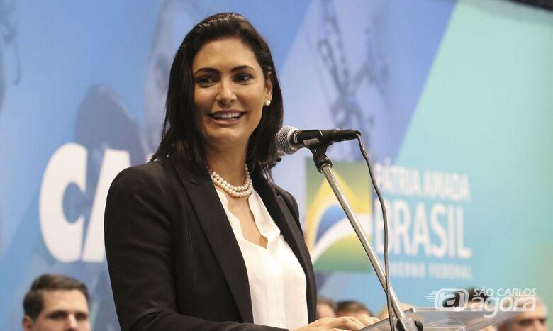 Primeira-dama testa positivo para covid-19 - Crédito: Agência Brasil