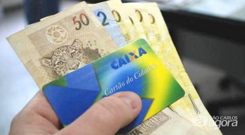 Caixa começa a pagar hoje abono salarial para nascidos em julho - Crédito: Divulgação