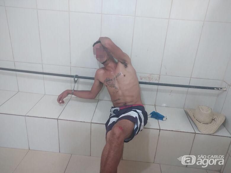 Jovem é detido após furto em residência na Vila Jacobucci - Crédito: Marco Lúcio