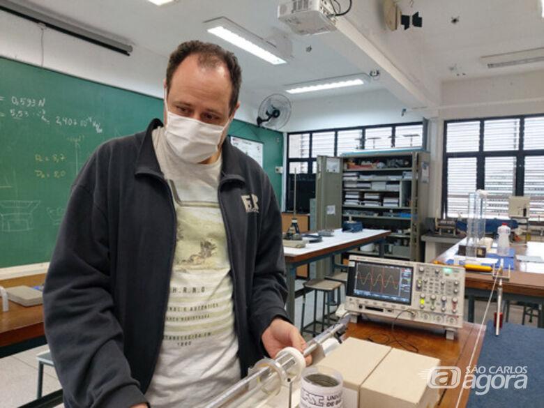 Laboratórios de Ensino de Física é uma nova realidade para os alunos do IFSC/USP São Carlos - Crédito: Divulgação