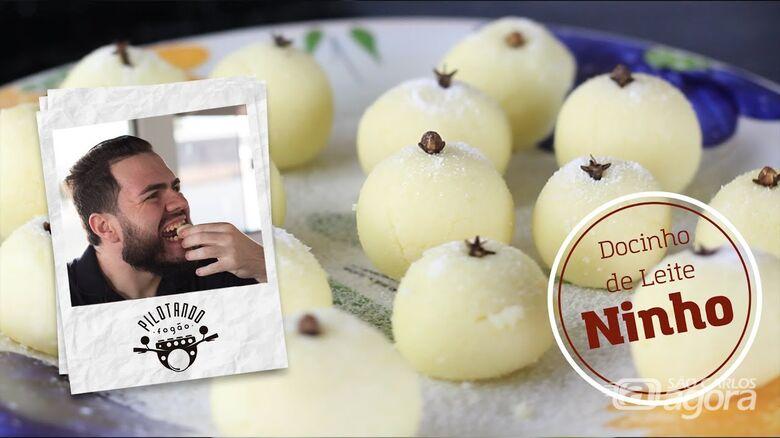 Vinicius Holmo ensina a preparar um delicioso docinho de leite ninho -