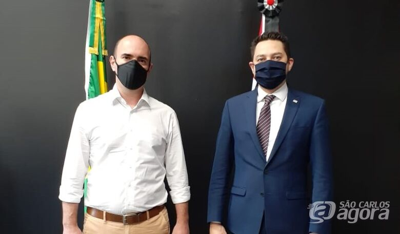 Netto Donato busca soluções para a economia de São Carlos - Crédito: Divulgação