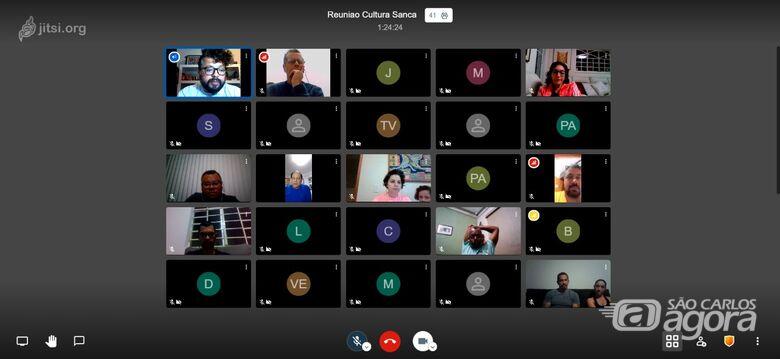 Último encontro do grupo reuniu mais de 40 artistas para discutir a formação do comitê - Crédito: Divulgação