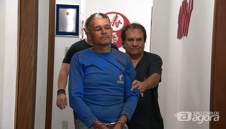 Jorge no prédio da DIG quando foi preso pela Polícia Civil. - Crédito: Arquivo/SCA