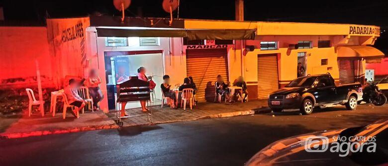 Força-tarefa acaba com pancadão e fecha bares no Cidade Aracy - Crédito: Divulgação
