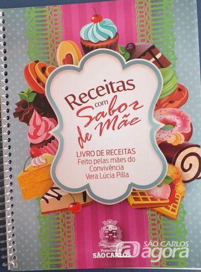Idosos do CRI Vera Lucia Pilla lançam livro de receitas - Crédito: Divulgação