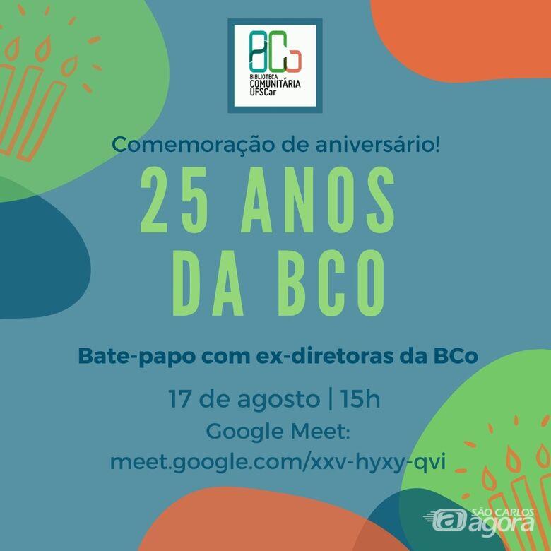 Biblioteca Comunitária da UFSCar comemora 25 anos com evento online - Crédito: Divulgação