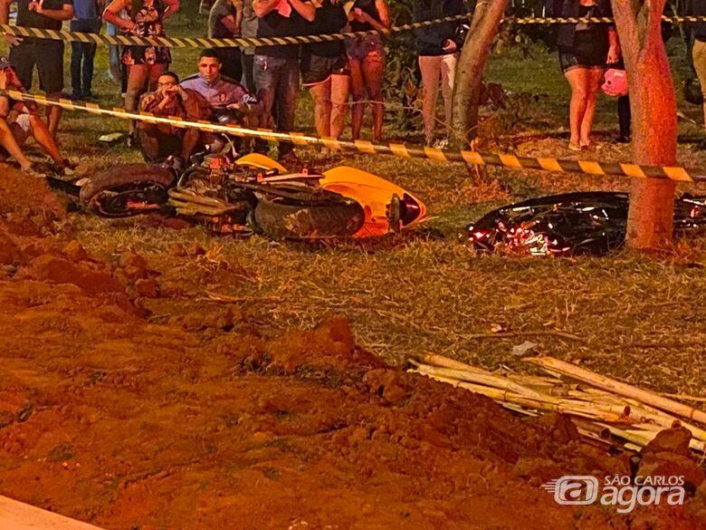 Com moto emprestada, jovem sofre acidente e morre em cidade da região - Crédito: Araraquara 24 Horas