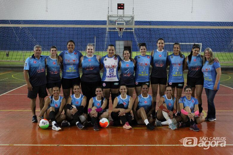 Equipe de vôlei feminino Objetivo/InHouse/Smec deve estar em ação na Copa AVS/Smec ainda neste ano - Crédito: Divulgação