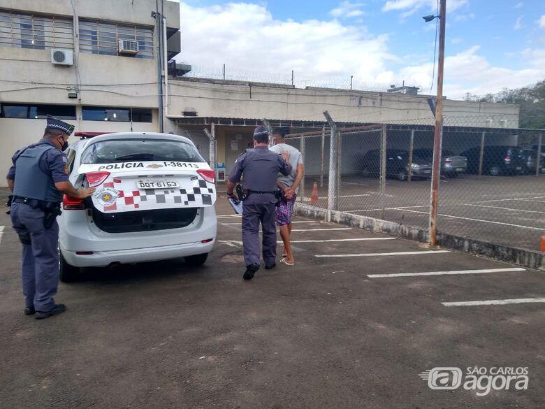Acusado de matar desafeto com golpes de capacete é preso pela PM na Vila Prado - Crédito: Divulgação/PM