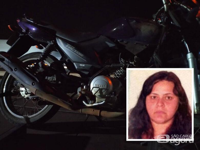 Mulher morre em acidente de moto na rodovia Washington Luis - Crédito: Grupo Rio Claro