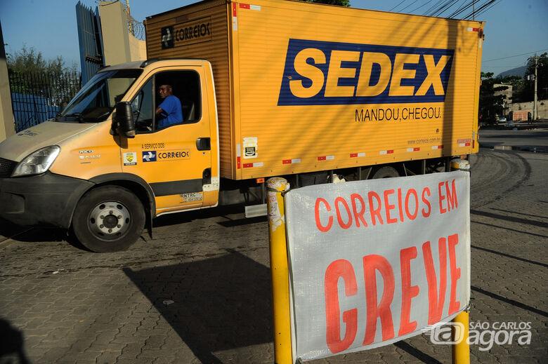 Greve: trabalhadores dos Correios cruzam os braços em todo o país - Crédito: Agência Brasil
