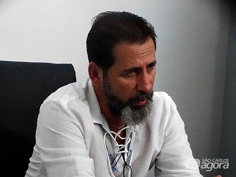 Marcos Palermo realizou teste para covid-19 e aguarda em casa o resultado - Crédito: Arquivo/SCA