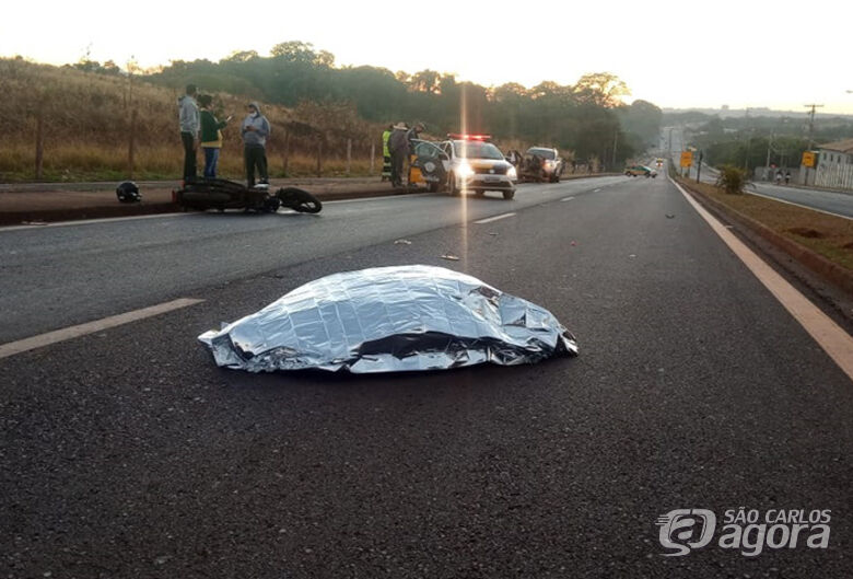 Jovem morre em acidente de moto na região - Crédito: Divulgação